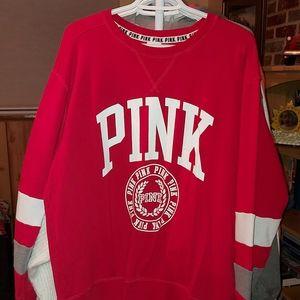 Victoria Secret Pink Crew Neck Sweatshirt